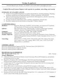 Cv Examples Administration Network Administrator Resume Template Sample Examples System Systems