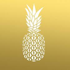 pineapple desktop background. pineapple-stencil-golden-pineapple-wallpaper pineapple desktop background