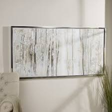 birch trees framed canvas on rectangular framed wall art with canvas wall art birch trees wayfair