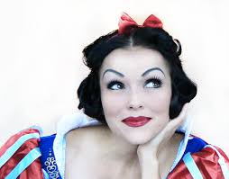 disney snow white make up and hair tutorial