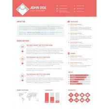 Photoshop UI/UX Designer Resume