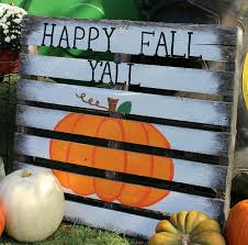 pallet projects for fall. ramblings of a southern girl: painted pumpkin pallet \u0026 patch visit projects for fall p