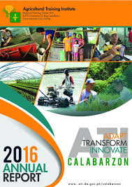 Annual Accomplishment Report 2016 | Ati In Calabarzon
