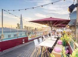 savage garden rooftop bar in london