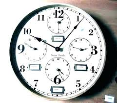 time zone wall clocks digital multi clock multiple timezone world images home labels