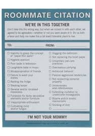 House Rules For Roommates Template 10 Best Roommate Contract Images Roommate Roommate