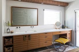 mid century bathroom. 16 Inspirational Mid Century Modern Bathroom Designs N