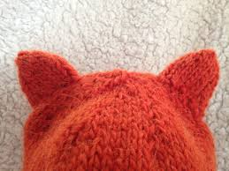 Knit Baby Hat Pattern Circular Needles Cool Knit Nat Simple Fox Hat Free Pattern