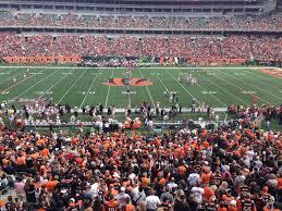 Cincinnati Bengals Seating Guide Paul Brown Stadium
