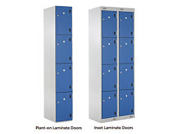 4 door laminate lockers
