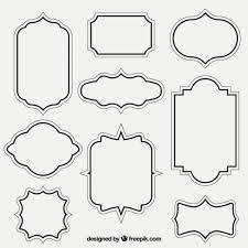 vintage frame design png. Free Vector Frames And Borders Vintage Frame Design Png