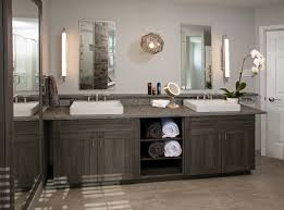 modern bathroom design. \u2022Modern Master Bathroom With A Rustic Twist In Media Pennsylvania. The  Vanity Features Custom 3-DL Cabinetry By Bremtown, Pietra Cardosa Limestone Tops, Modern Design