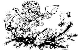 Splatoon Coloring Pages Coloring Pages Crafts For Boys Colouring