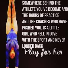 Gymnastics Quotes Fascinating 48 Images About Gymnastics Quotes On We Heart It See More About