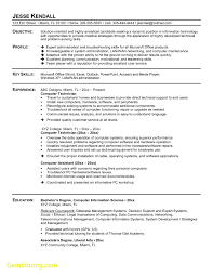 Inspirational Resume Template Veterinary Technician Best Templates
