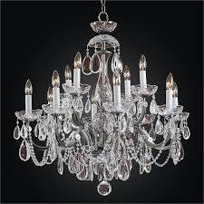 wrought iron crystal chandelier old world iron 543hd12lvp 7c
