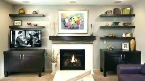 floating shelf above fireplace how to build shelves next thnkng desgn deas floating shelf above fireplace