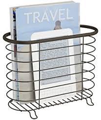 Interdesign York Lyra Over The Tank Magazine Holder Bronze Amazon InterDesign York Lyra OvertheTank Magazine Holder 31