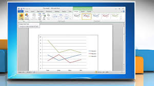 How To Make A Line Graph In Microsoft Word 2010