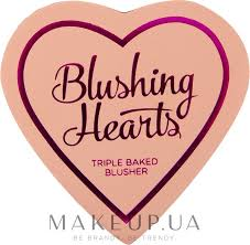 I <b>Heart</b> Revolution Blushing Hearts Blusher - <b>Румяна</b>: купить по ...