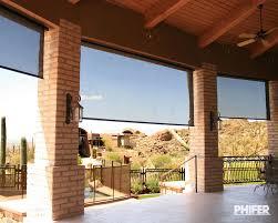 patio shades exterior motorized