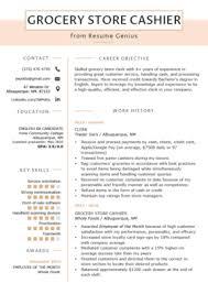 experience as a cashier cashier resume sample writing guide resume genius