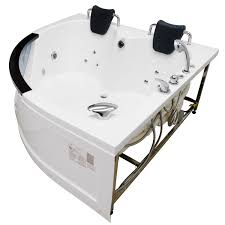 model mg015 create a relaxing spot for two right in your own house introducing homeward bath s luxurious corner rounded heated whirlpool bathtub