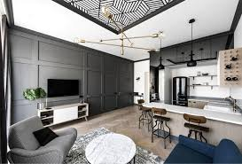 Open Concept Kitchen And Living Room 40 Designs Ideas Gorgeous Apartment Design Remodelling