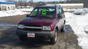 2002 Chevrolet Tracker For Sale at Koehne Chevy, Marinette, WI ...