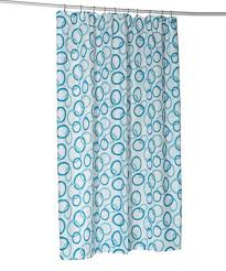 circles stall size shower curtain liner