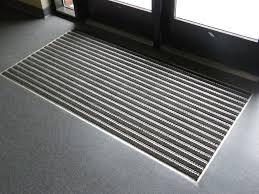 Industrial Kitchen Floor Mats Aluminum Roll Up Mats Refurbished Recessed Aluminum Mat