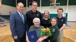 Legislature honors Greenville school employee for decades of unpaid service  to school | WCTI