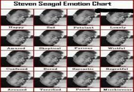 Emotional Chart For Steven Seagal Picture