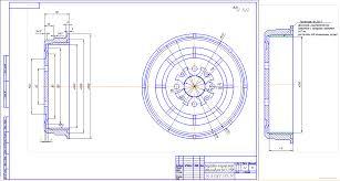 Курсовые и дипломные работы автомобили расчет устройство  Курсовой проект Восстановление тормозного барабана автомобиля ВАЗ 2108