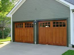 modern wood garage door. Modern Wooden Garage Doors Design With Outdoor Lighting Wood Door