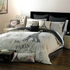 clever design london paris comforter set themed bedding modern postcard fl erflies teal 4 piece