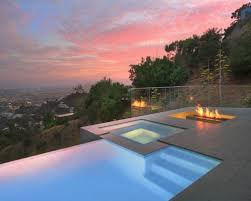 infinity pool design. Plain Design Photo Of A Small Modern Backyard Customshaped Infinity Pool In Los Angeles  With Inside Infinity Pool Design E