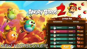 Angry Birds 2 - Jetpack Run HATCHLING - My Highscore! GamePlay - YouTube