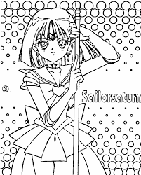 Small Picture Silver Moon Crystal Power Kiss Coloring Pages Sailor Mars