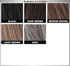 Toppik Color Chart Details About Toppik Thickening Coloured Hair Spray Five Pack
