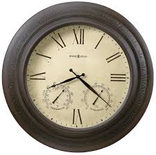 howard miller copper harbor 625 464 large wall clock outdoor clocks