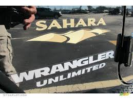 jeep wrangler sahara logo. 2012 jeep wrangler unlimited sahara 4x4 marks and logos photo 59632992 logo p