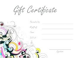 Gift Certificate Template Printable Christmas Coupon Template