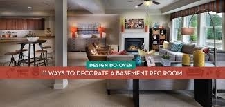 11 ways to decorate a basement rec room