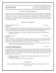 Lead Cook Resume Sample Lead Cook Resume Sample Images Resume