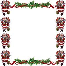 christmas santa borders and frames. Delighful Christmas Free Christmas Borders Inside Santa And Frames I