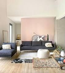 dark accent wall living room grey