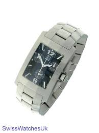 dunhill rectangular chronograph stainless steel mens watch ob0553