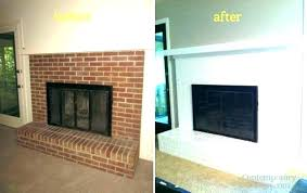 painting red brick fireplace painting red brick fireplace painted brick fireplace painted fireplace brick painting brick