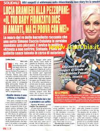 Lucia Bramieri alla politica Stefania Pezzopane: